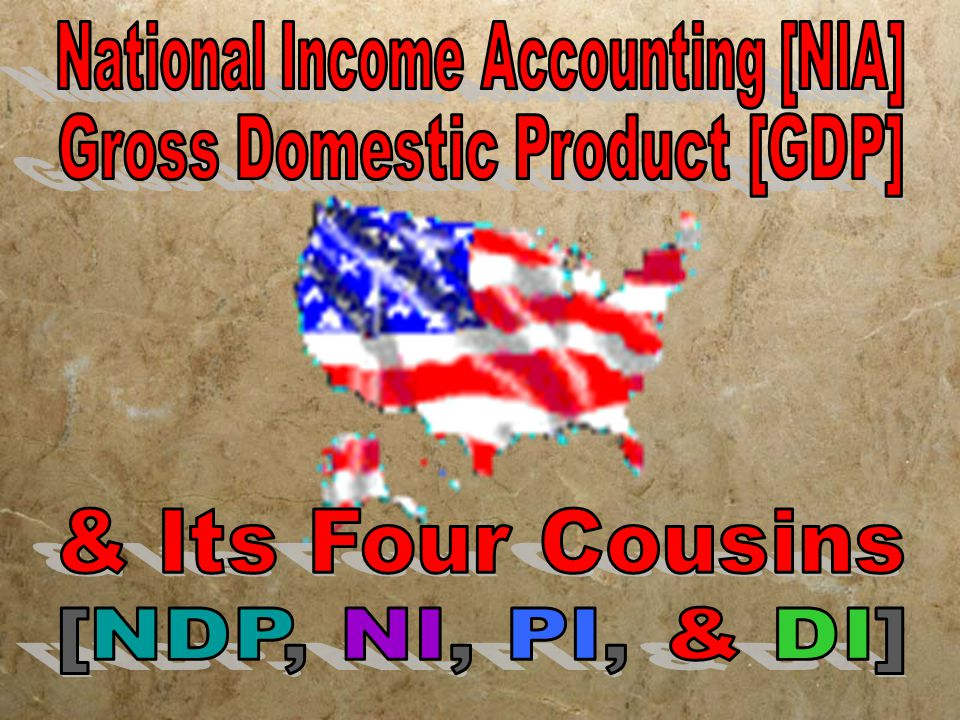 National Income Accounting [NIA]